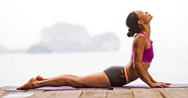 Йога для похудения, упражнения для начинающих